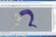 modellazione trave reticolare corno