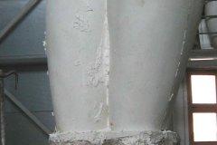 gelcoat e vetroresina laminata dentro calchi in gesso